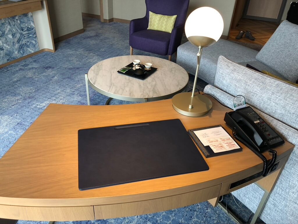 ウェスティン都ホテル京都 ラグジュアリースイート平安京ビュー SPGアメックス 新型コロナウイルス対策 luxury suite COVID-19 ラウンジ 朝食