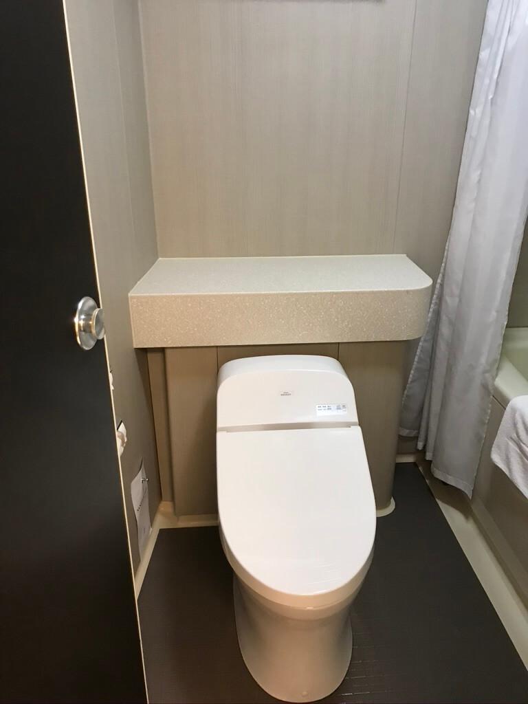 ザ・プリンス 京都宝ヶ池 宿泊記 クラブフロア クラブキング お風呂 トイレ