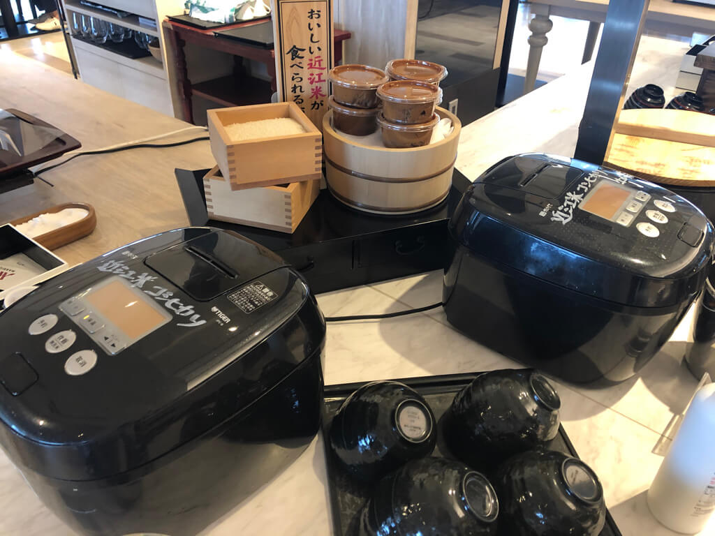 琵琶湖マリオット 温泉ビューバス付 プレミアルームツイン 宿泊記 SPGアメックス紹介 朝食