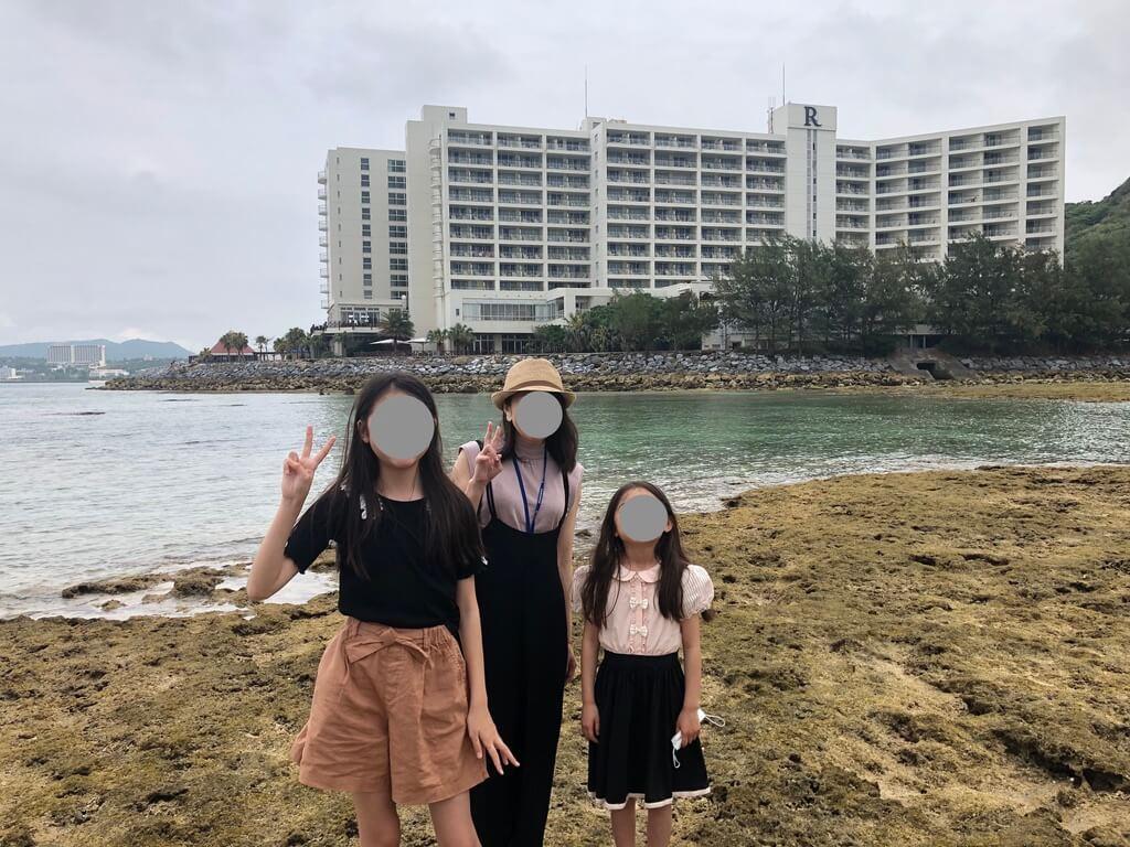 ルネッサンスリゾートオキナワ  宿泊記 アクティビティ 体験 子連れ マリブビーチ 磯遊び
