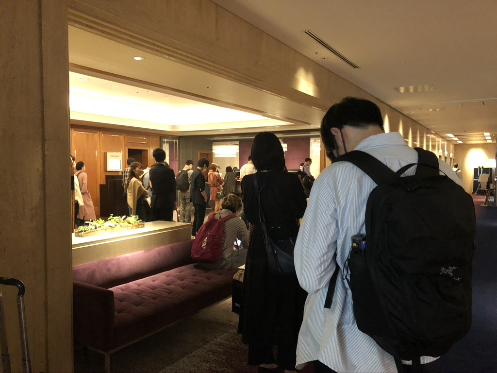 東京マリオットホテル デラックスツイン 宿泊記 チェックイン 大行列 コロナ